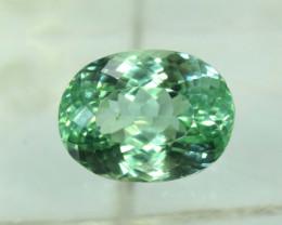 No Reserve - 12.90 Carats Green Spodumene Gemstone Fro Afghanistan