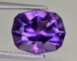 No Reserve 5.20  Cts Amethyst Gemstone~Brazil