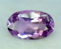 No Reserve - 7.40 cts Top Grade Quality Oval Shape Cut Untreated Amethyst G