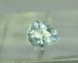 No Reserve - 5.20 Carats Pear Cut Untreated Aquamarine Gemstone From Pakist