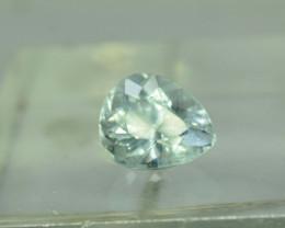No Reserve - 5.20 Carats Pear Cut Untreated Aquamarine Gemstone From Pakist