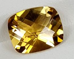 3.50Crt Madeira Citrine  Best Grade Gemstones JI135