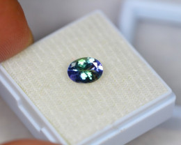 1.16ct Greenish Violet Blue Tanzanite Oval Cut Lot V3008