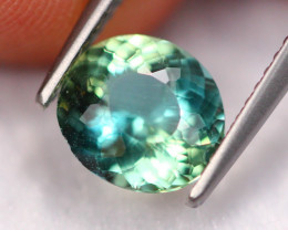1.66Ct Natural VS Clarity Color Changed Green Apatite A0883