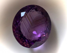 ⭐12.10ct Vivid Pink Mauve Ametrine Amethyst - No Reserve