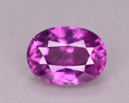 Rare 1.20 Ct Natural Corundum Pink Sapphire From Kashmir