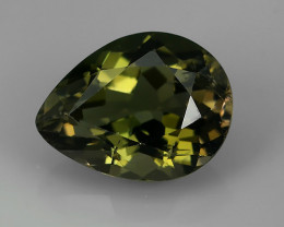 1.90 CTS AWESOME NICE  NATURAL GREEN TOURMALINE FACET GENUINE