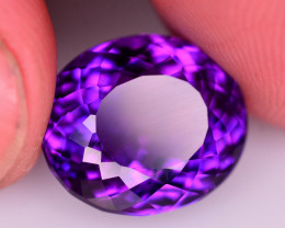 Top Color 9.75 Ct Natural Amethyst From Uruguay