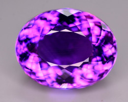 Superb Color 14.85 Ct Natural Amethyst From Uruguay