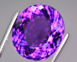 Gorgeous Color 18.50 Ct Natural Amethyst from Uruguay AM1