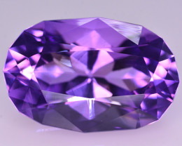 32.70 Ct Amazing Color Natural Amethyst ~ Uruguay AM1