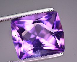 Brilliant Color  9.40Ct Natural Amethyst From Uruguay AM1