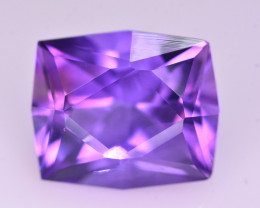 Brilliant Color 13.70  Ct Natural Amethyst From Uruguay AM1