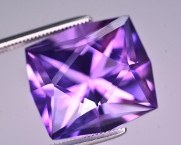 Brilliant Color 14 Ct Natural Amethyst From Uruguay