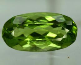 8.20 ^ Carats Oval Cut Natural Olivine Green Natural Peridot Gemstone