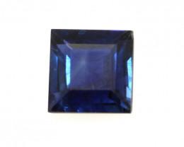 0.48cts Natural Australian Blue Sapphire Square Shape