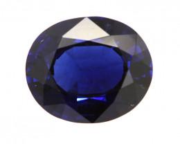 4.53cts Natural Australian Blue Sapphire Oval Shape