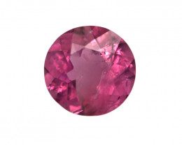 0.20cts Natural Pink Tourmaline Round Cut