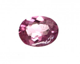 0.17cts Natural Pink Tourmaline Oval Cut
