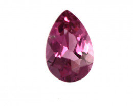 0.19cts Natural Pink Tourmaline Pear Cut