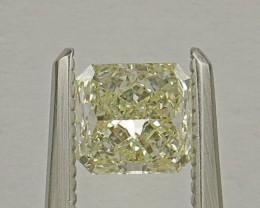 Natural Fancy Yellow Diamond HRD certified