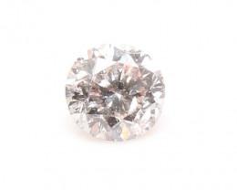 Natural Very Light pinkish Brown Diamond GIA certified