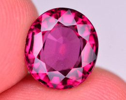 Rare 3.35 Ct Natural Grape Garnet From Mozambique