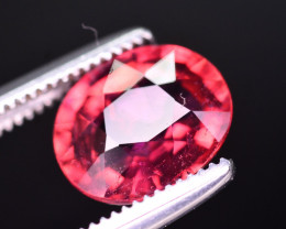 Rarest 1.45 Ct Malawi Raspberry Pink Umbalite Garnet From Tanzania