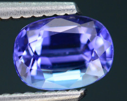 AAA Grade 1.22 ct Tanzanite Amazing Color and Cut SKU-10