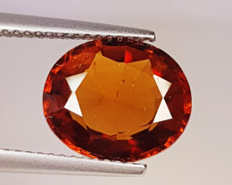 """4.43 Ct """" Collector's  Gem"""" Marvelous Oval Cut Natural Hessonite"""