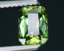 AAA Grade 1.21 ct GreenTanzanite Unheat Amazing Color and Cut SKU-9