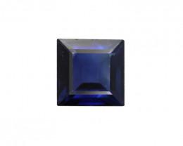 0.30cts Natural Australian Blue Sapphire Square Shape