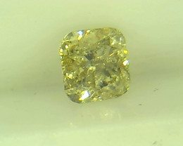 0.335ct Fancy Light Green Diamond , 100% Natural Untreated