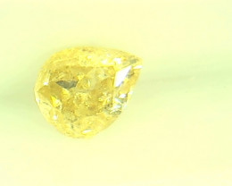 0.305ct Fancy Brownish Yellow  Diamond , 100% Natural Untreated
