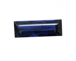 0.30cts Natural Australian Blue Sapphire Baguette Cut