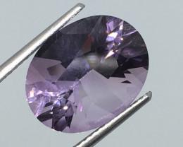 6.73 Carat VVS Amethyst Brilliant Purple Unheated Brazilian Beauty !