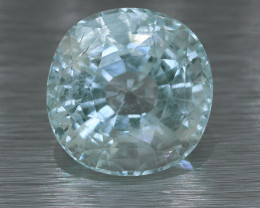 BIG SIZE UNTREATED Ceylon Aquamarine 16.48 Ct. (00755) RING /Perfect Size