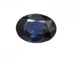 1.12cts Natural Australian Blue Sapphire Oval Cut