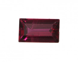 0.24cts Natural Ruby Baguette Shape