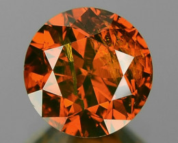 0.71 CTS SPARKLING RARE FANCY VIVID RED COLOR NATURAL  LOOSE DIAMOND