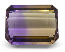 26.11 ct Emerald Cut Ametrine-$1 No Reserve Auction