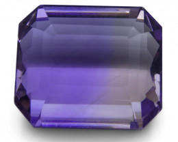 15.2 ct Emerald Cut Ametrine