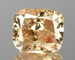 1.01 Cts Untreated Natural Fancy Pinkish Purple Orangy Brown Loose Diamond