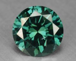 0.46 Cts Sparkling Fancy Intense Greenish Blue Color Loose Diamond