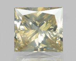 1.10 Cts Untreated Natural Fancy Greenish Yellowish Brown Diamond