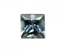 0.36cts Natural Australian Blue Sapphire Princess Cut