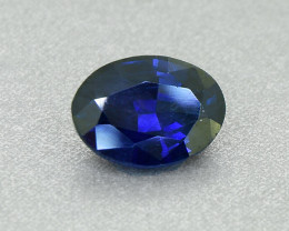 Deep Blue Sapphire 1.41 Ct Would look awesome in a ring (01298)