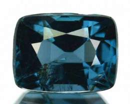 Natural Cobalt Blue Spinel 0.89 Cts Cushion Cut Sri Laka