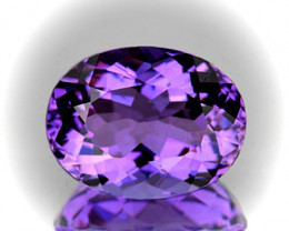 ⭐Oval cut Pink Purple Amethyst 6.41cts VVS gem