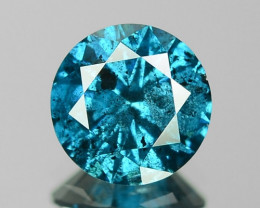 0.83 Cts Sparkling Fancy Vivid Blue Color natural Loose Diamond